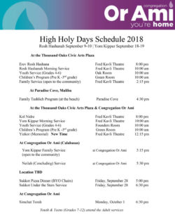 high holidays schedule or ami calabasas high holy days thumbnail v2