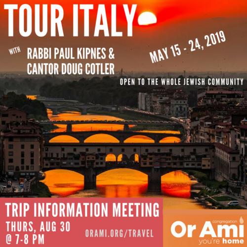 Italy Trip Logo 2019 2nd logo 1