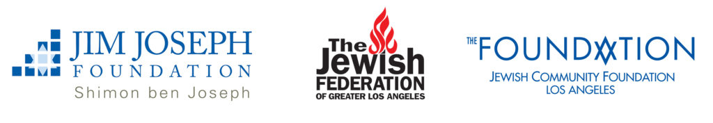 Center for Jewish parenting all three logos