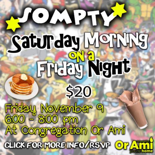 Saturday Morning on a Friday Night v2 for CC