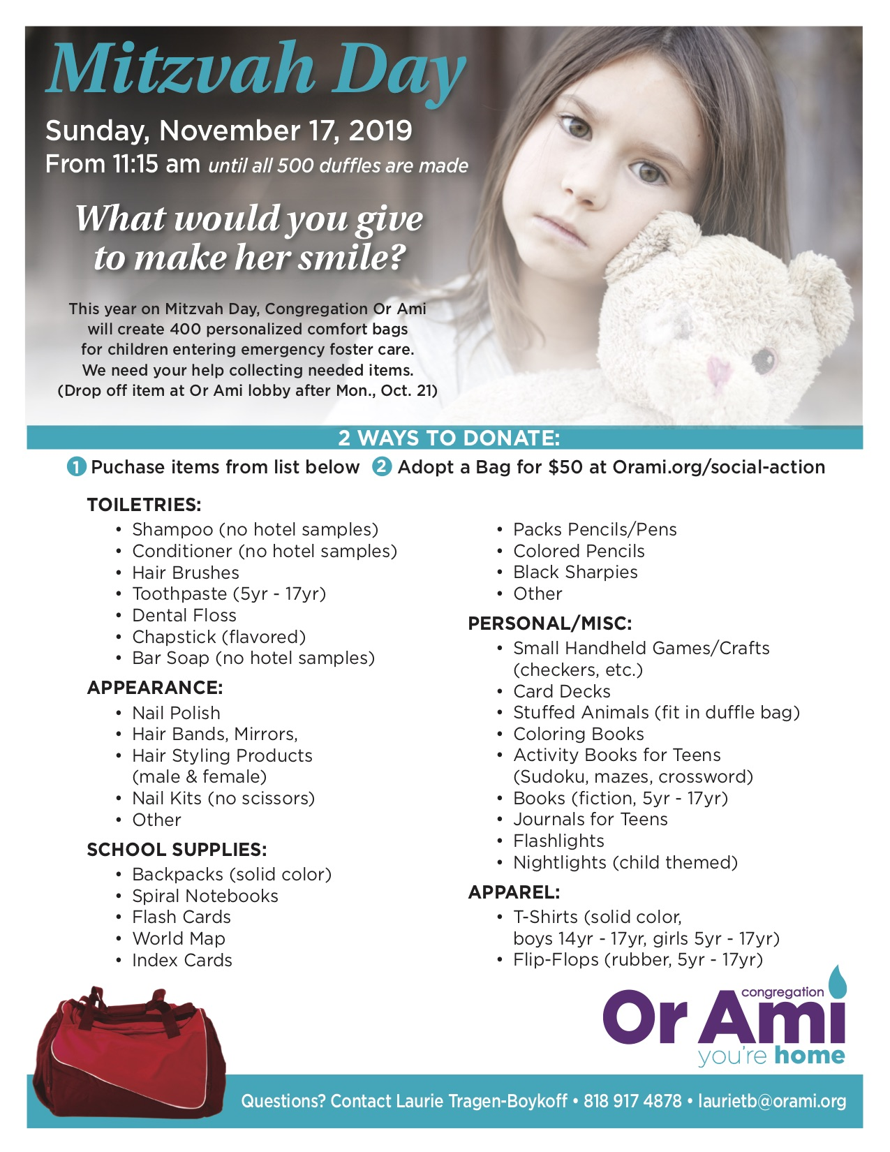 Or Ami Mitzvah Day Flyer 2019 (2) (2)