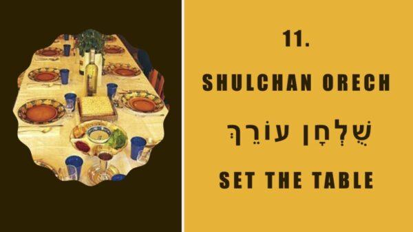 shulchan orech