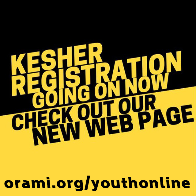 kesher black and yellow with site