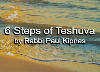 six steps of teshuvah button updated