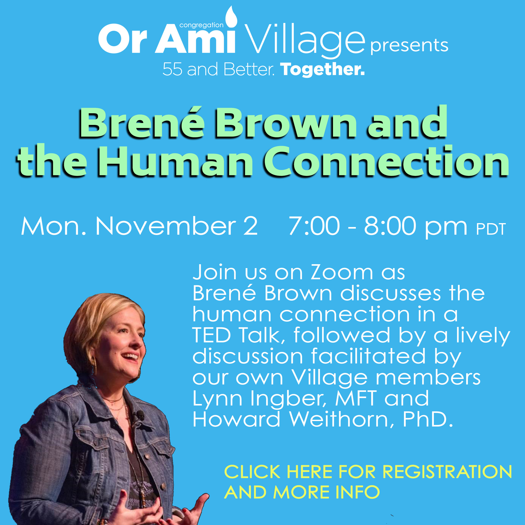 brene brown village with click