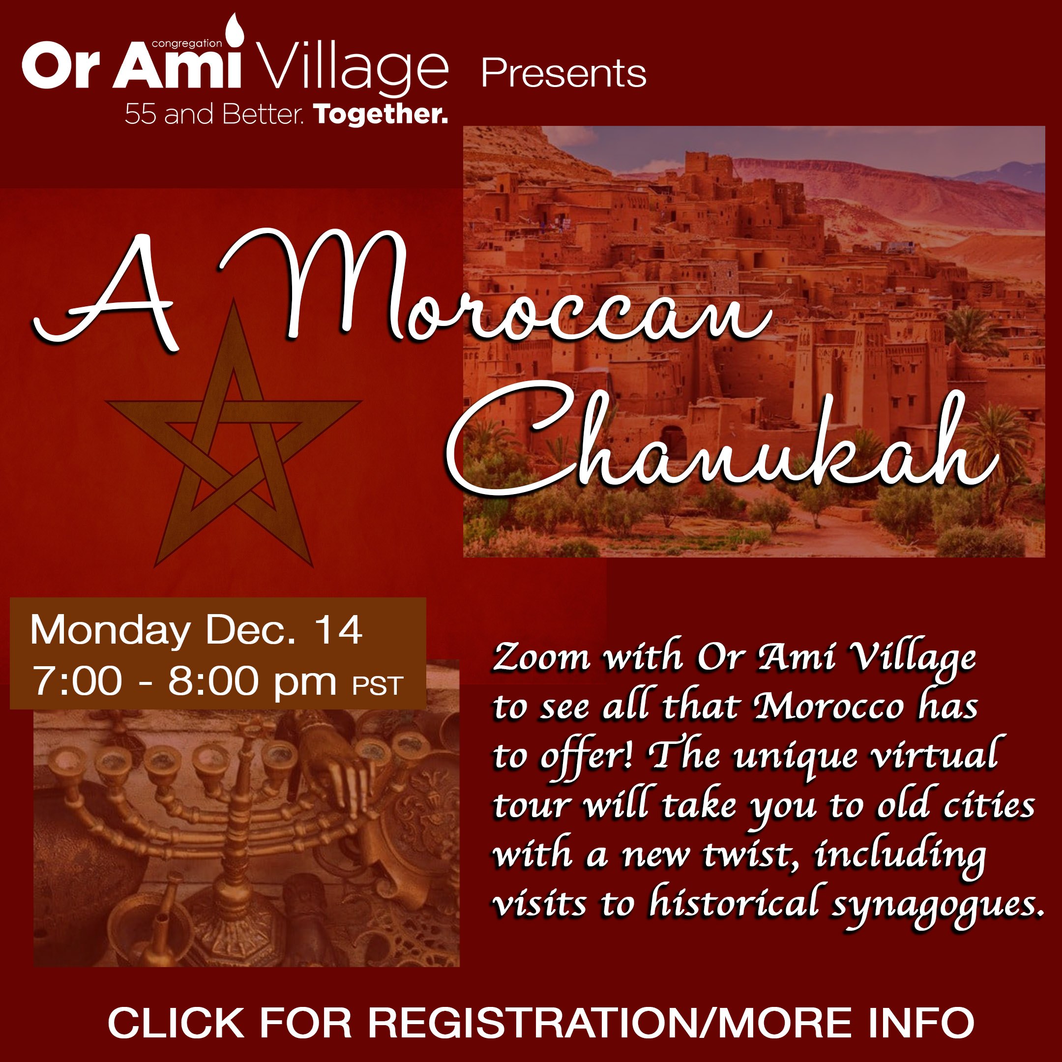 a moroccan chanukah with CLICK