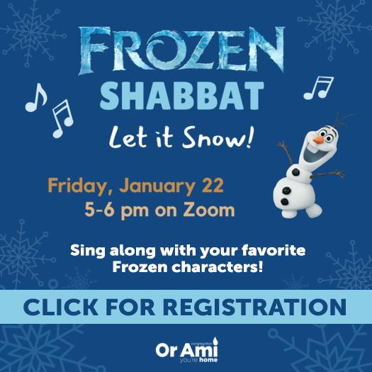 frozen shabbat with CLICK