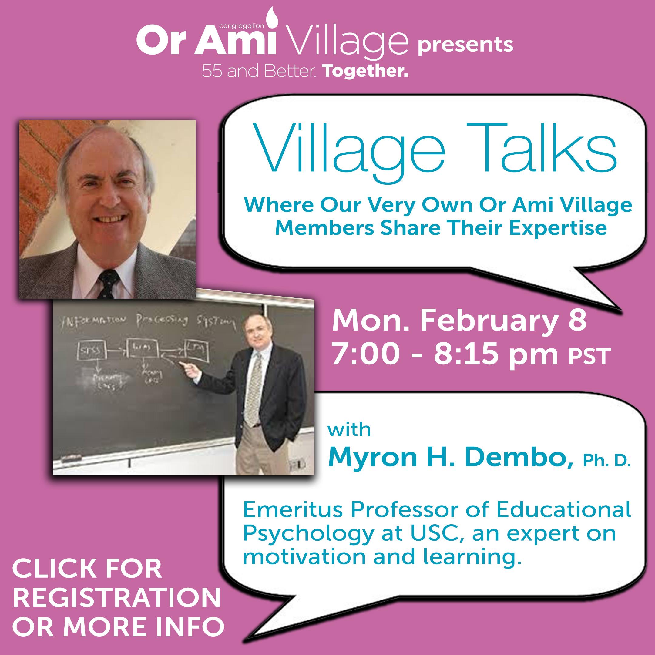 myron village talk with CLICK
