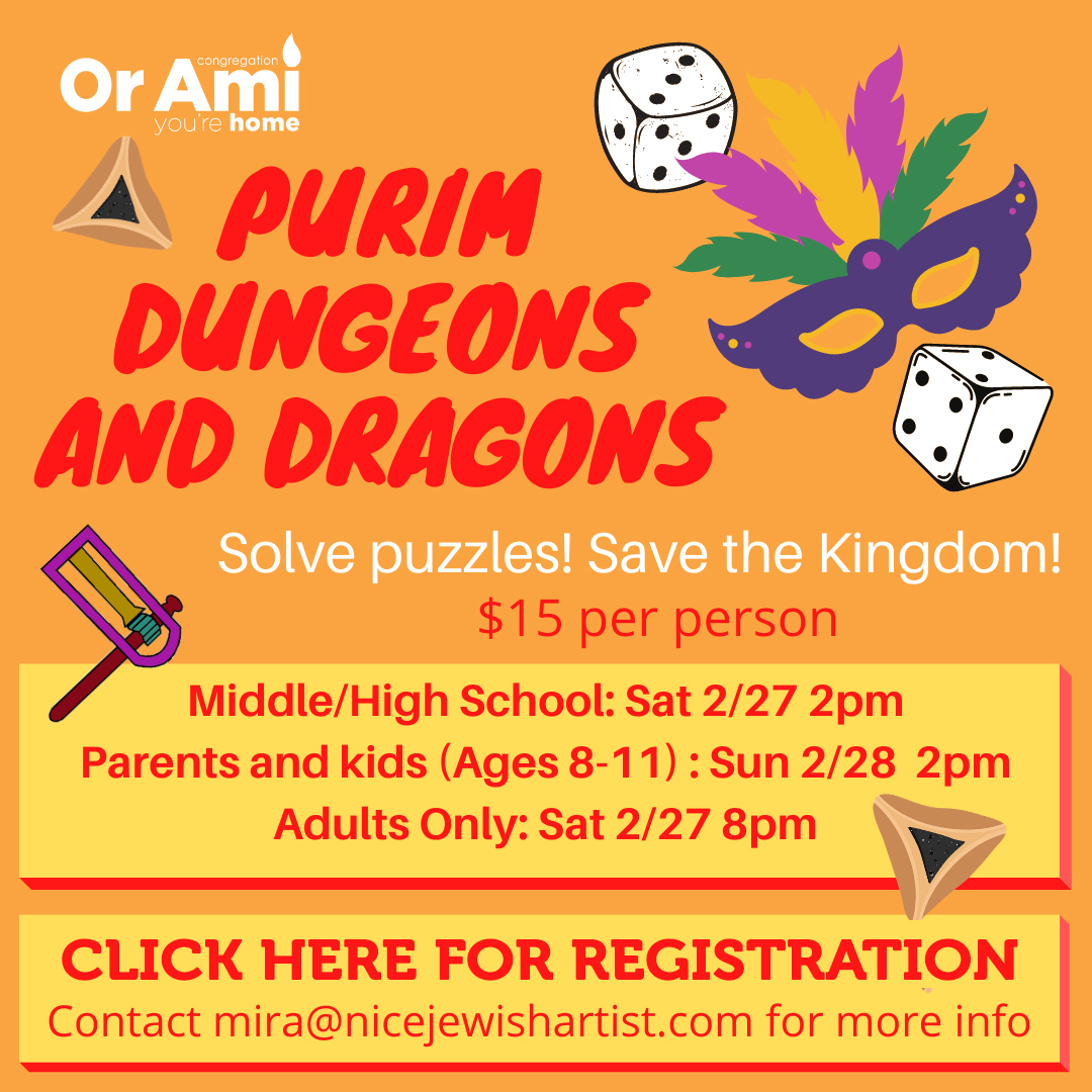 Purim Dungeons and Dragons with CLICK v2