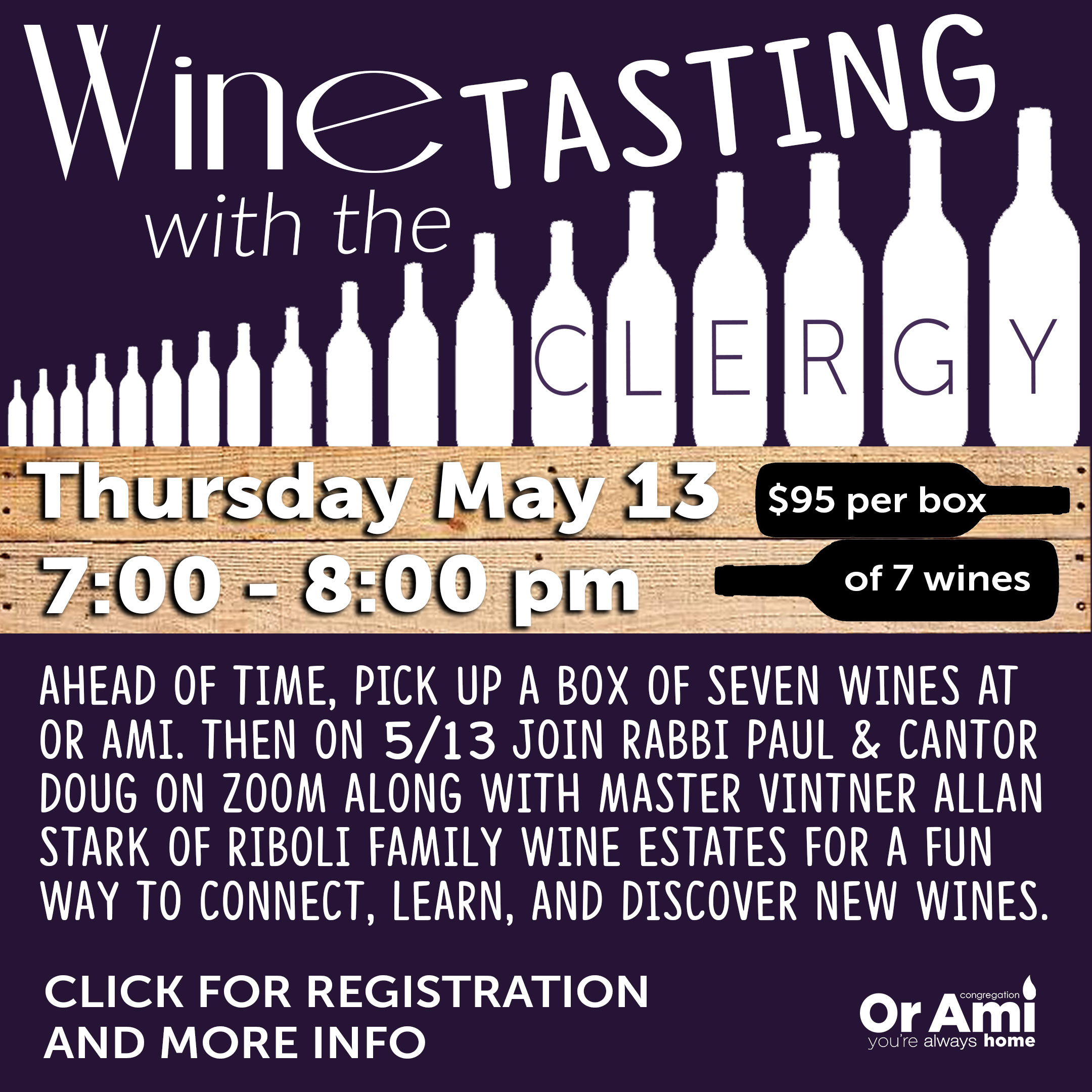 wine tasting with clergy with CLICK