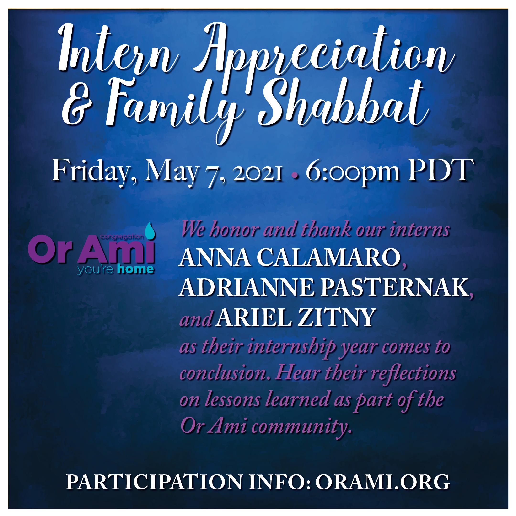 Or Ami Intern Appreciation and Family Shabbat 21 (2)