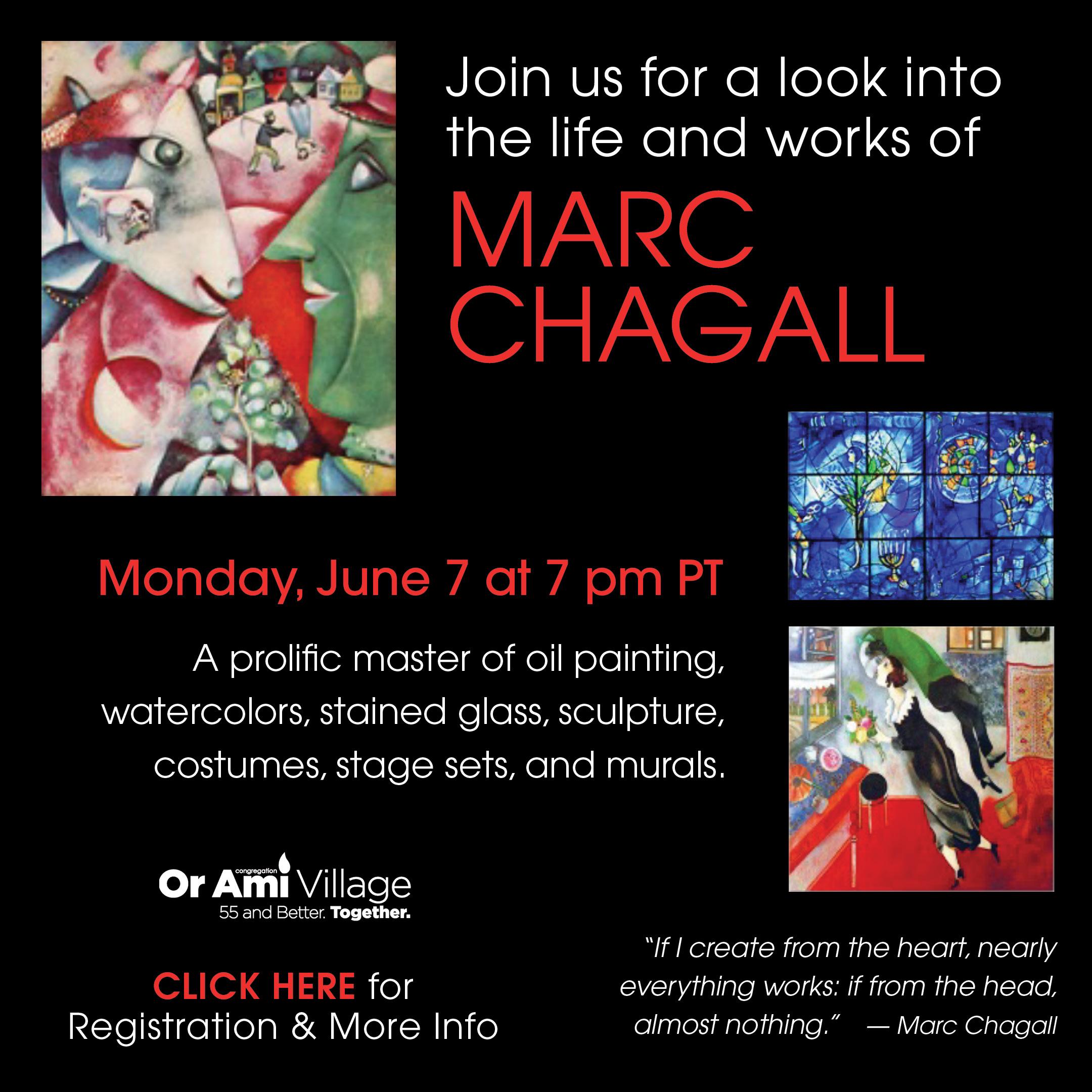 Or Ami Marc Chagall Program CLICK 2021