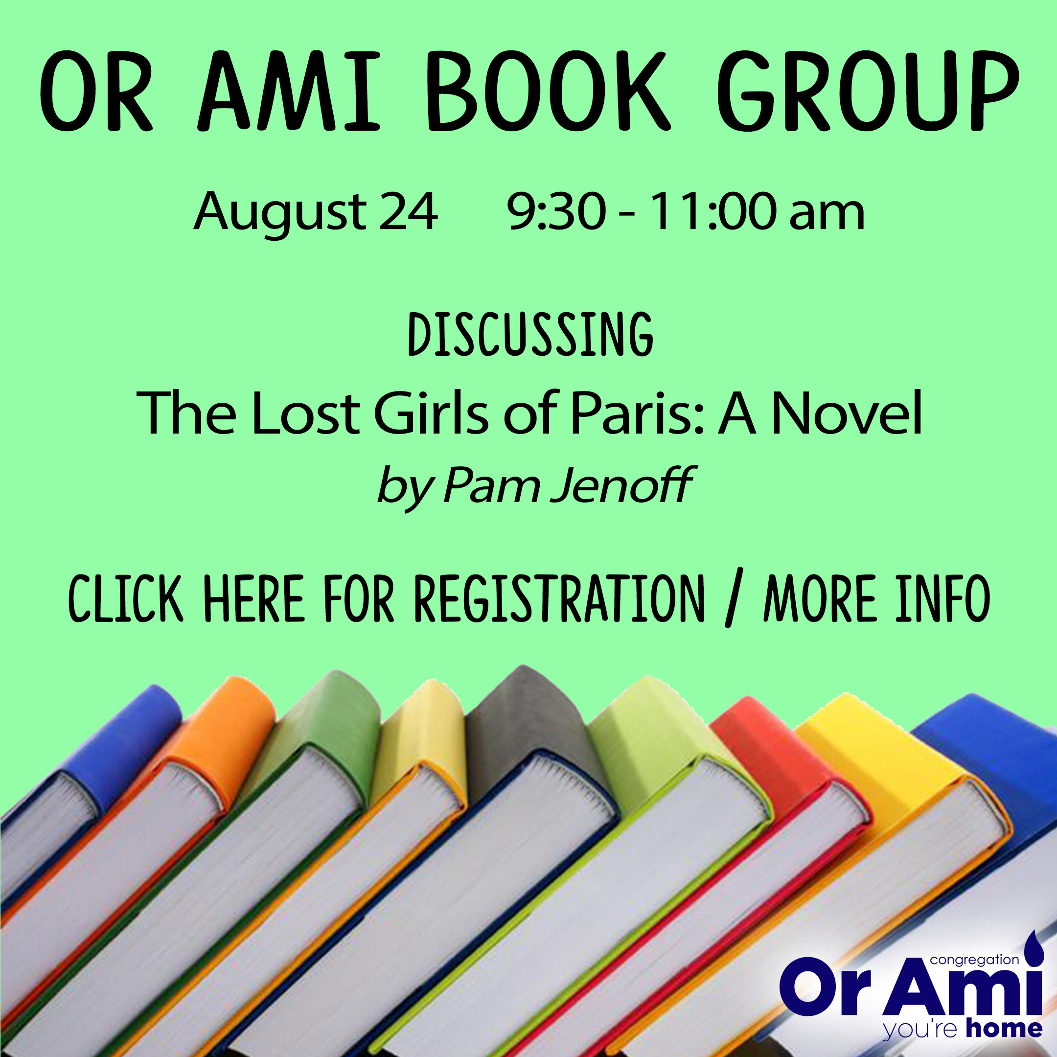 Book Group 8-24-21 with CLICK