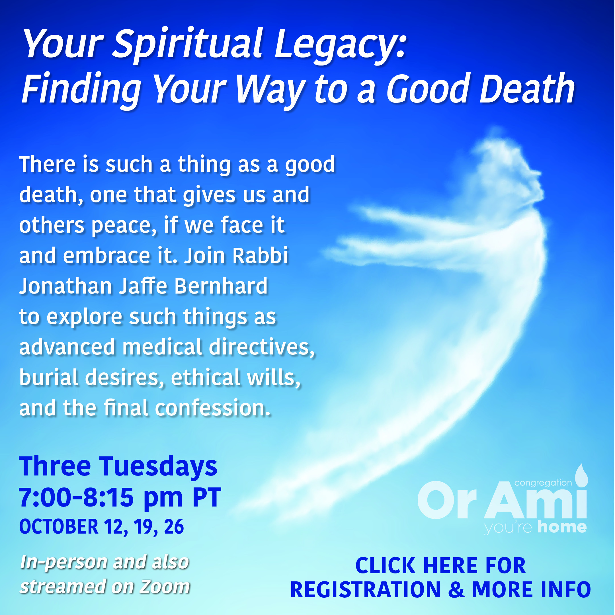 Or Ami Your Spiritual Legacy 2021 CLICK