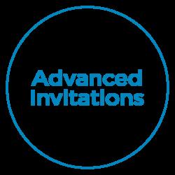 advanced invitation