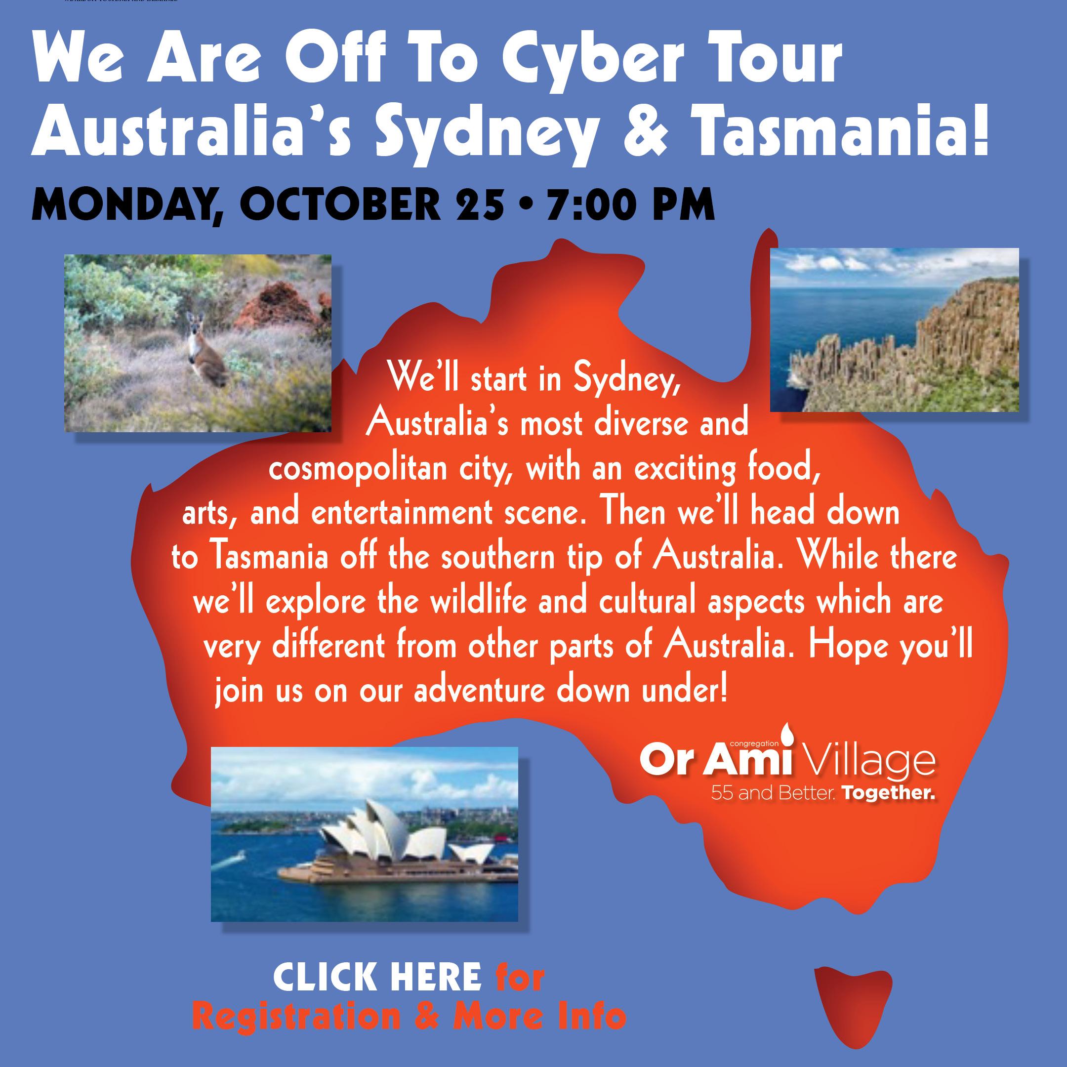 Or Ami Australia and Tasmania 2021 CLICK